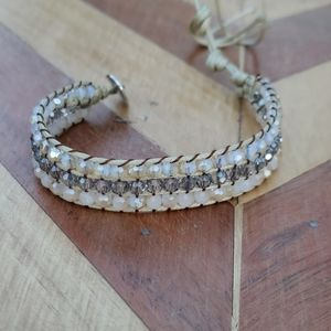 NWOT Beautiful Swarovski Crystal Wrap Bracelet